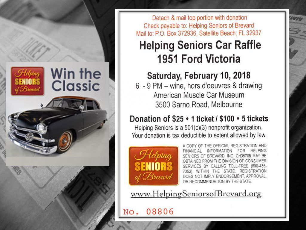 Win the Classic Car Raffle