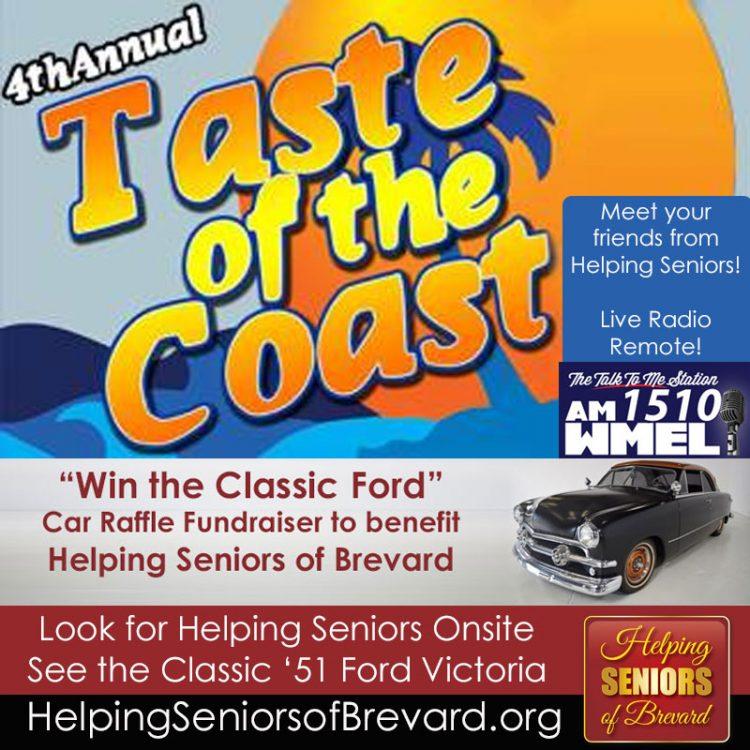 Helping Seniors at Taste of the Coast