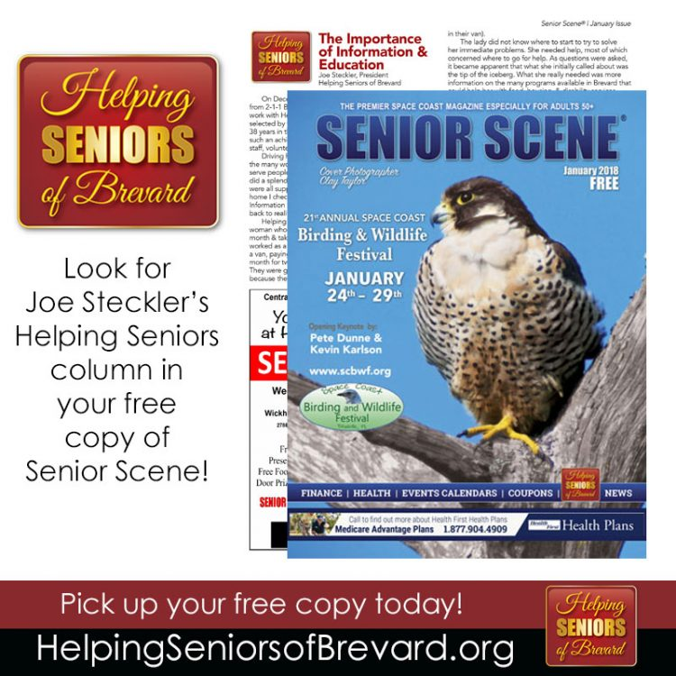 January 2018 Senior Scene Magazine