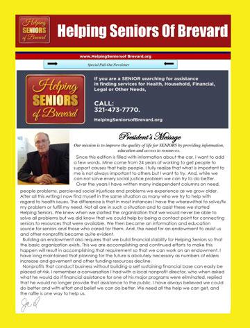Helping Seniors February Newsletter