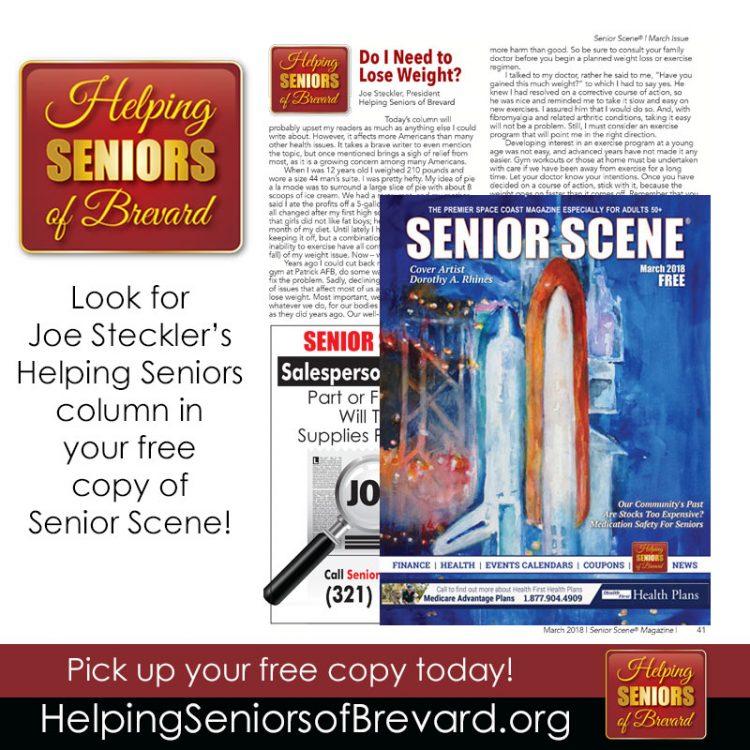 Helping Seniors in Senior Scene