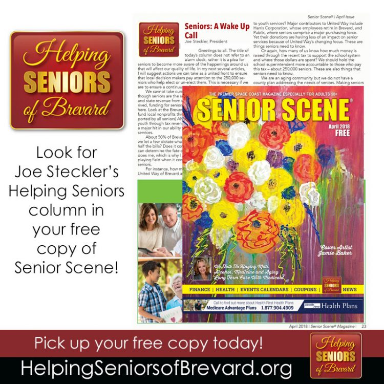 Helping Seniors in Senior Scene
