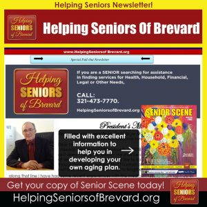 Helping Seniors - April 2018 Newsletter