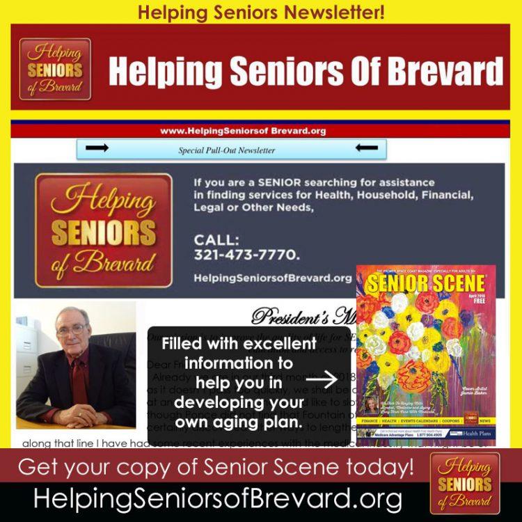 Helping Seniors - April 2018 Newsletter