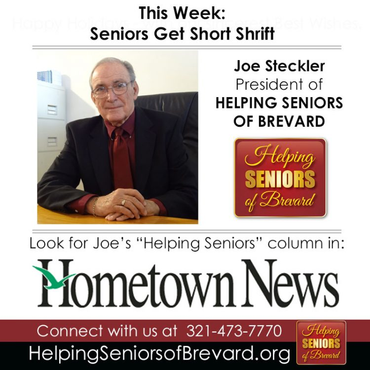 Seniors Get Short Shrift - Hometown News