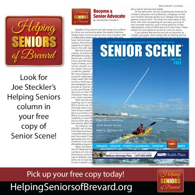Becoming a Senior Advocate - Helping Seniors in Senior Scene Magazine
