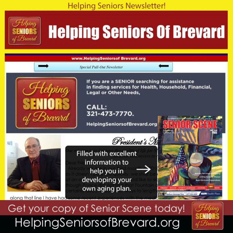 Helping Seniors July 2018 Newsletter