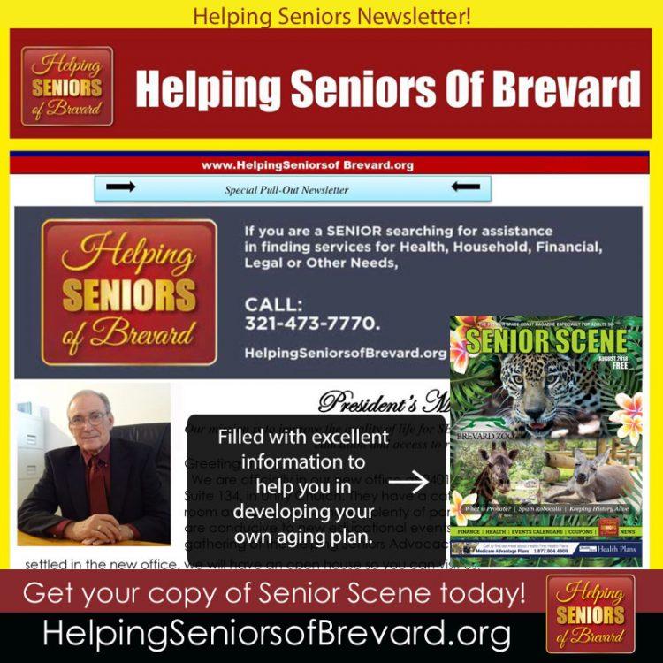 August 2018 Helping Seniors Newsletter