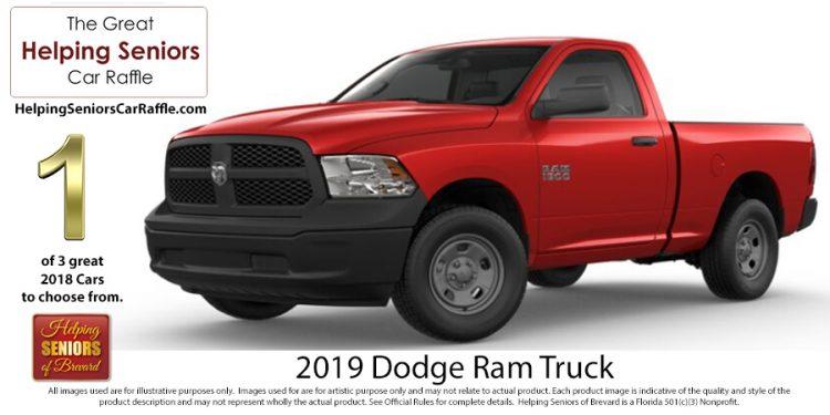 Helping Seniors 2019 Dodge Ram Truck
