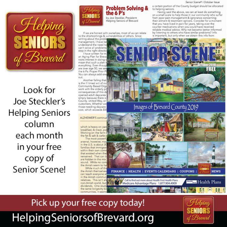 Helping Seniors in Senior Scene Magazine