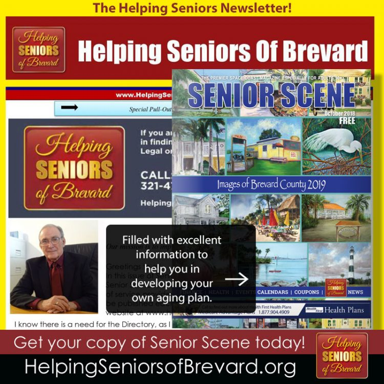 Helping Seniors October 2018 Newsletter