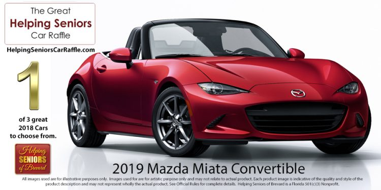 Helping Seniors 2019 Mazda Miata Convertible