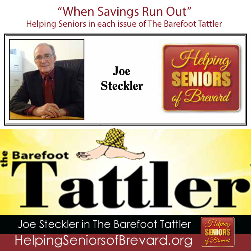 When Savings Run Out - Helping Seniors in Barefoot Tattler