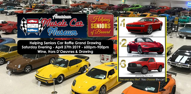 Helping Seniors Grand Drawing at the American Muscle Car Museum