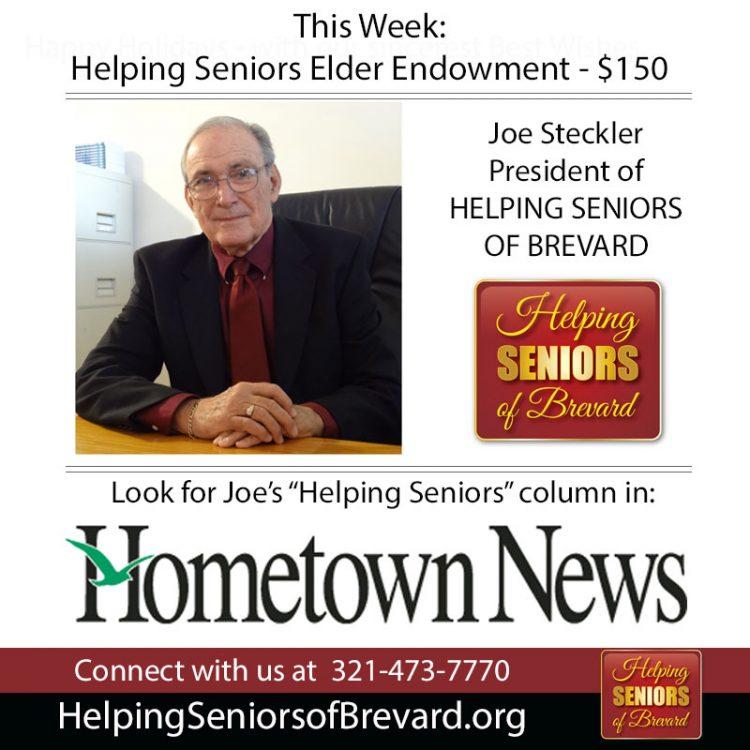 Hometown News - Helping Seniors Elder Endowment