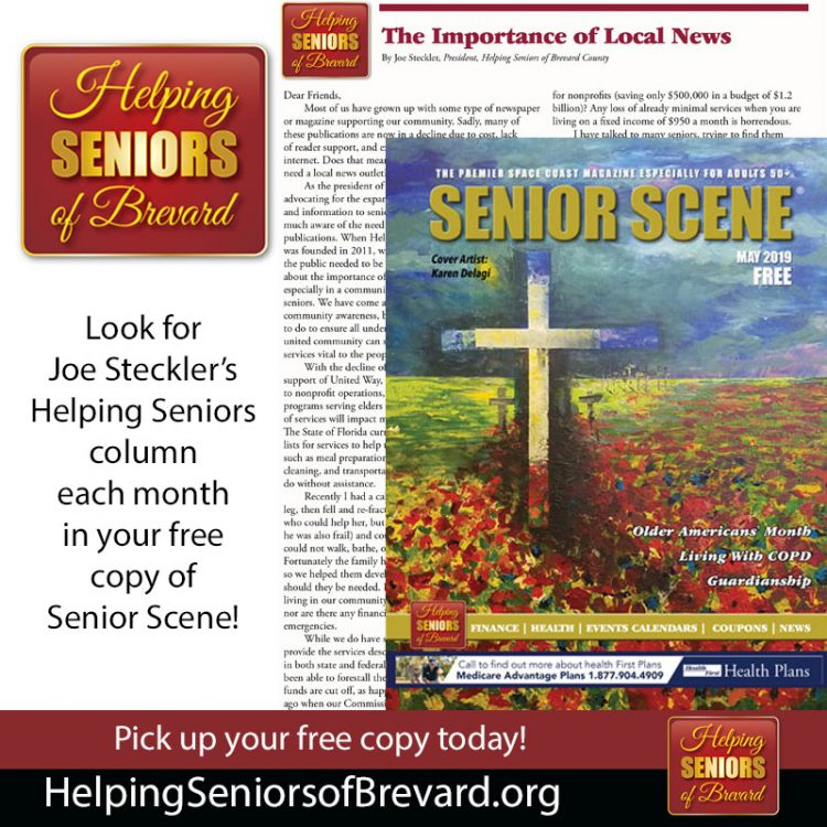 "Helping Seniors in Senior Scene ""The Importance of Local News"""