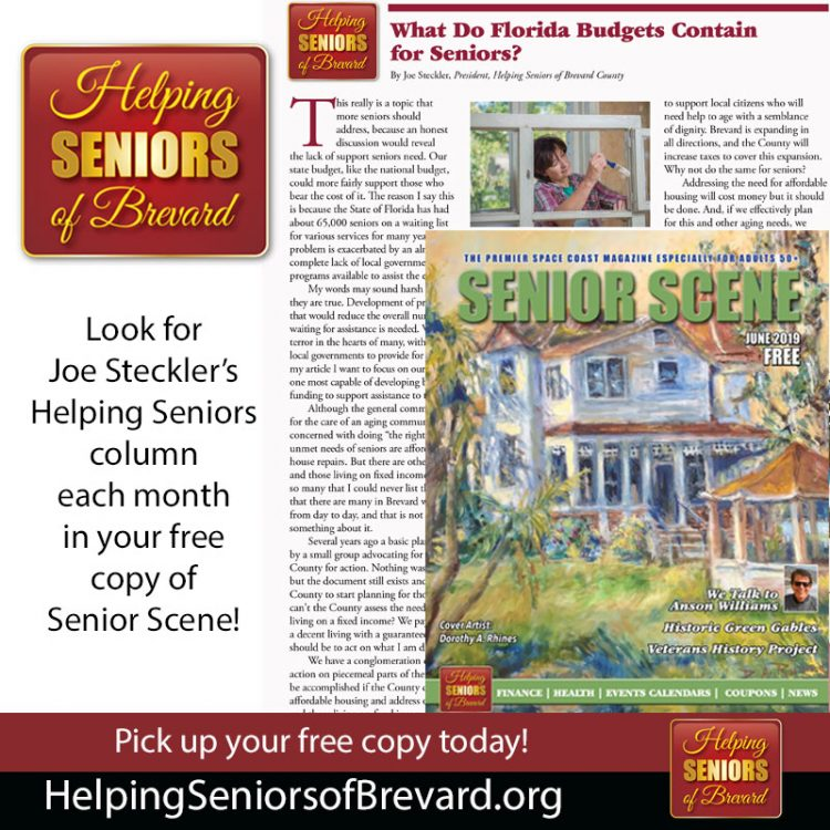 Helping Seniors in Seniors Scene Magazine