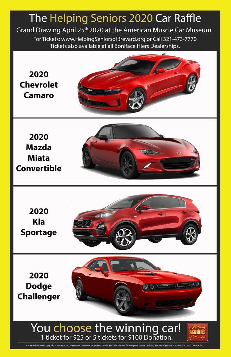 Helping Seniors 2020 Car Raffle