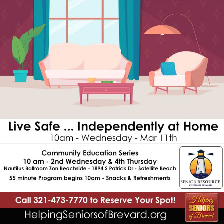 Live Safe ... Independently at Home Info Talk