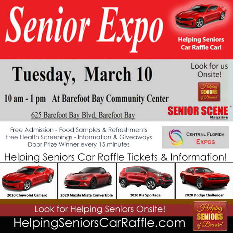 March 10 Senior Expo Barefoot Bay