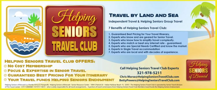 Helping Seniors Travel Club