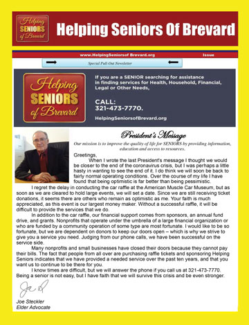 Helping Seniors Newsletter 2020