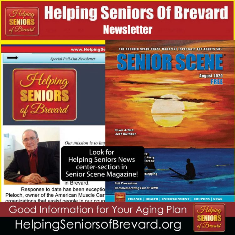 Helping Seniors Newsletter - August 2020