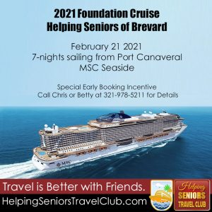 Helping Seniors Travel Club Foundation Cruise