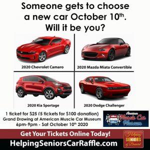 Helping Seniors Car Raffle 2020