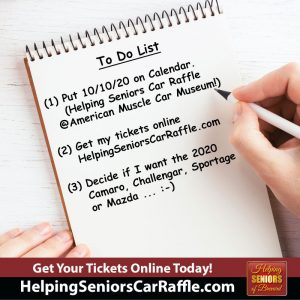 Helping Seniors Car Raffle