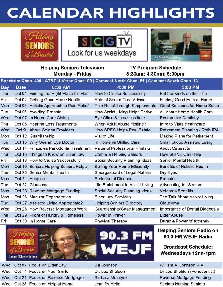 Helping Seniors Radio & TV