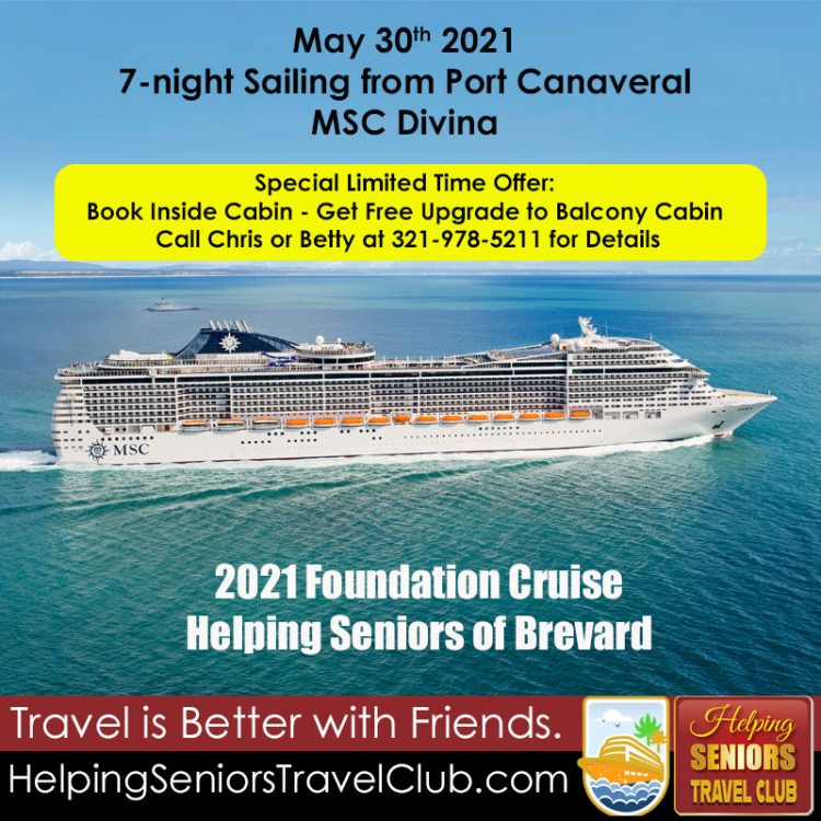 Helping Seniors Foundation Cruise