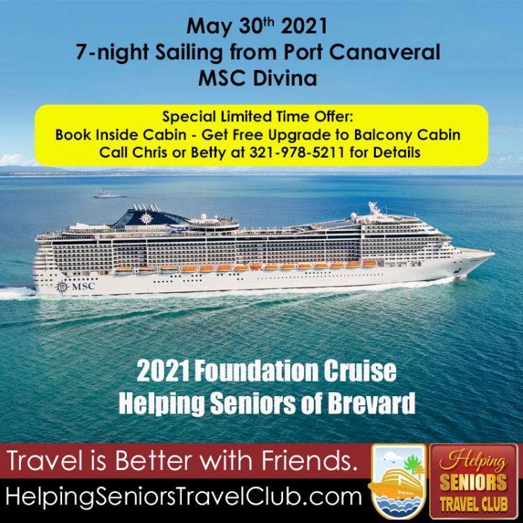 Helping Seniors Foundation Cruise