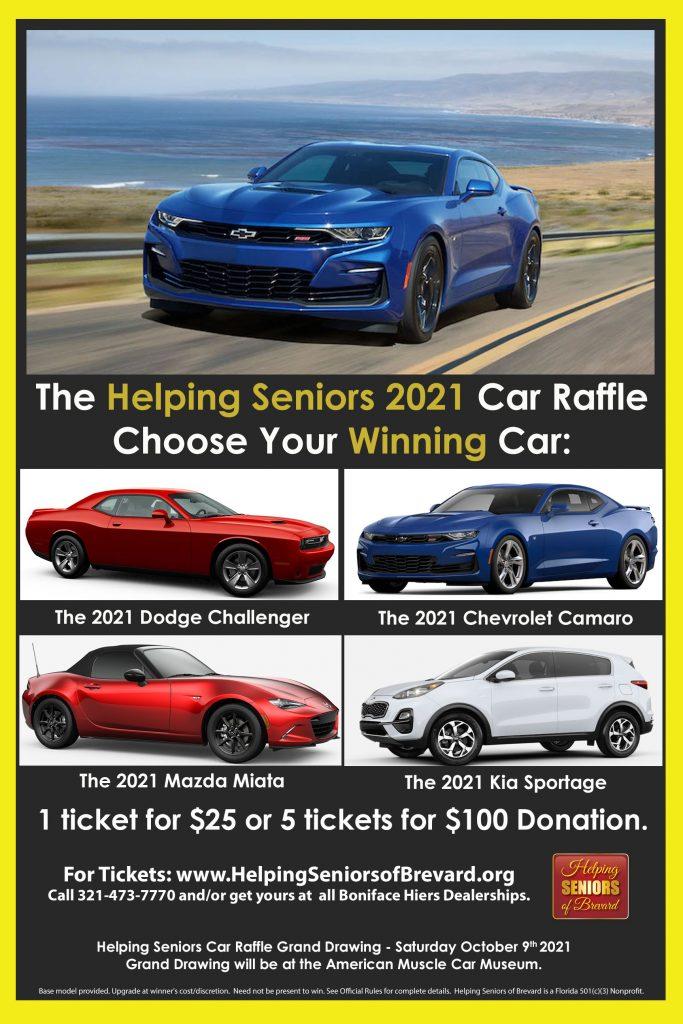 2021 Helping Seniors Car Raffle