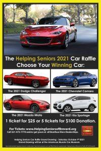 Helping Seniors Car Raffle Mazda