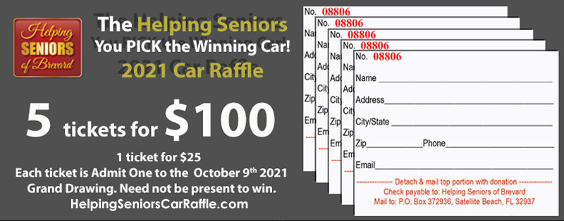 5 tickets for $100 donation