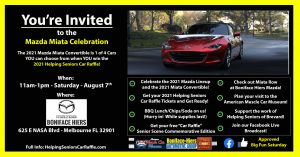 August 7th - Mazda Miata Celebration