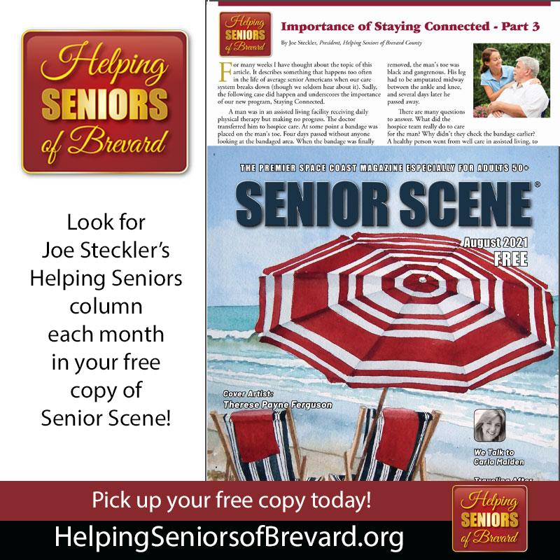 Helping Seniors in Seniors Scene