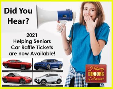 Get Helping Seniors Car Raffle Tickets