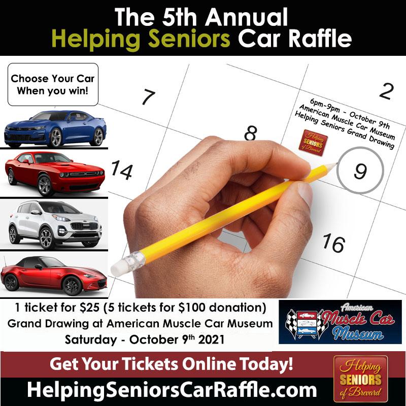Helping Seniors Car Raffle
